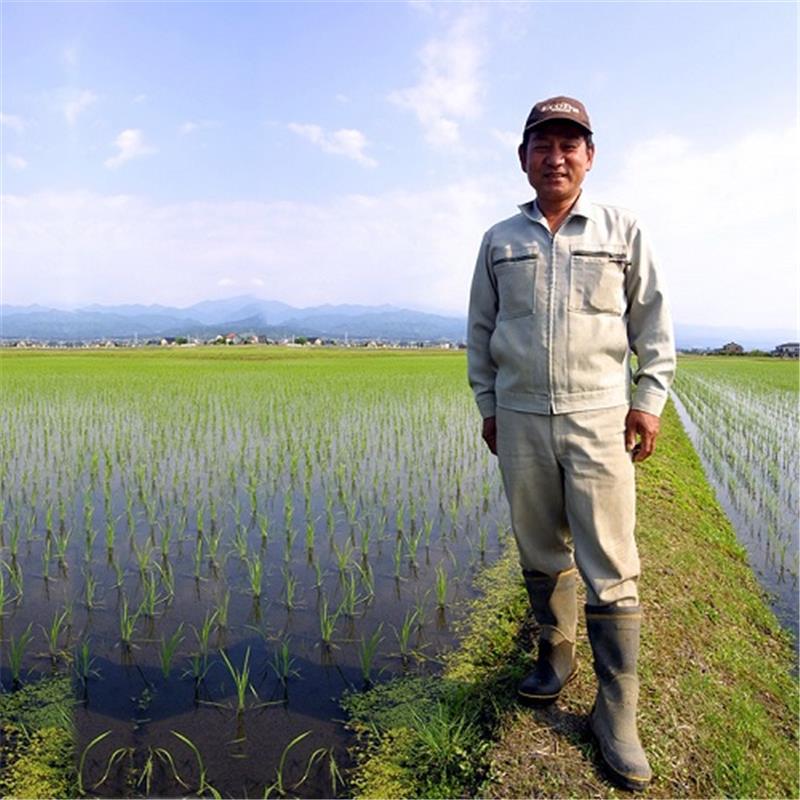 令和元年産 有機栽培 富山コシヒカリ 白米 2kg