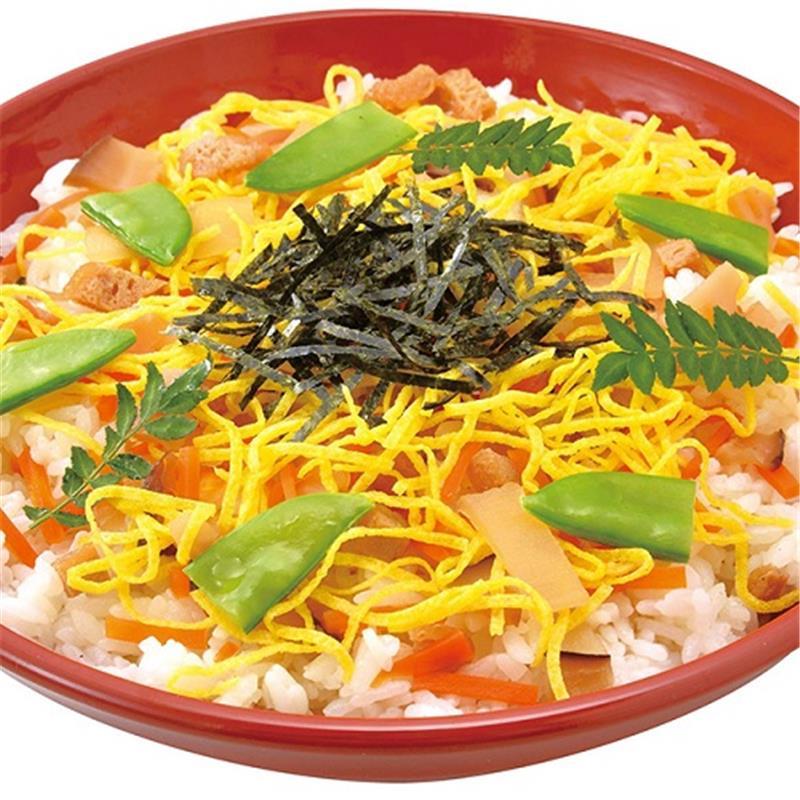 国産野菜の五目ちらし寿司の素 2合用