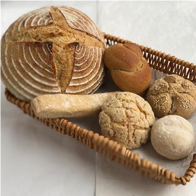 【冷凍】有機小麦使用パンおまかせセット 6品目程度