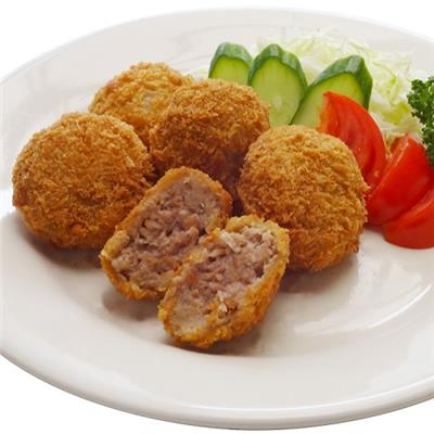 【冷凍】国産 豚肉 メンチカツ (ミニ)30g×15個