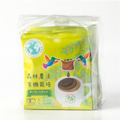 有機栽培 まいるどぶれんど ドリップバッグコーヒー 12g×5袋
