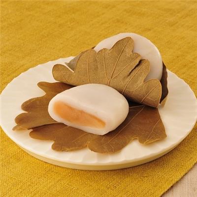 【冷凍】<芽吹き屋>柏餅 みそあん 50g×6個