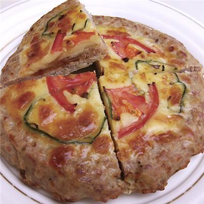 【冷凍】<私のレストラン>ピザハンバーグ 180g