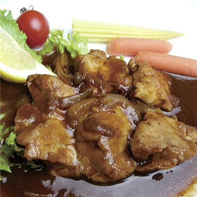 【冷凍】<私のレストラン>若鶏の赤ワインソース煮 160g