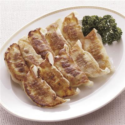 【冷凍】口福広場 野菜たっぷり餃子 16g×12個