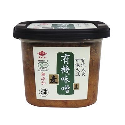 <チョーコー>有機味噌 麦 500g