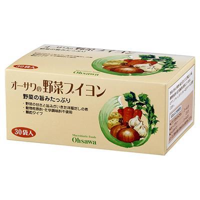《お徳用》オーサワの野菜ブイヨン 5g×30袋