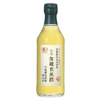 <内堀醸造>美濃 有機玄米酢 360mL