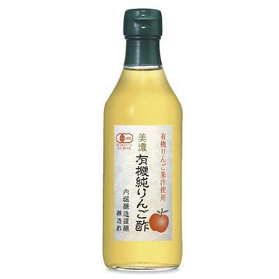 <内堀醸造>美濃 有機純りんご酢 360mL