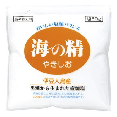 <海の精>やきしお(詰め替え用)60g