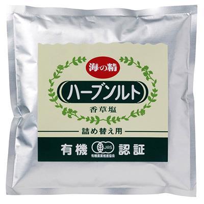 <海の精>有機ハーブソルト詰替用 55g