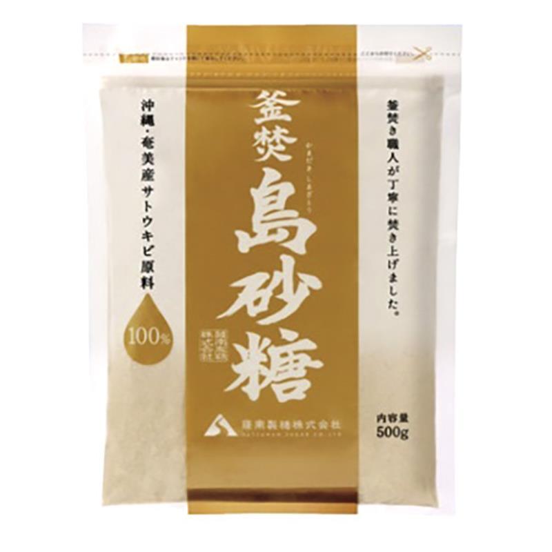 沖縄・奄美産 釜焚島砂糖 500g