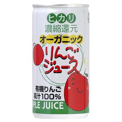 オーガニック りんごジュース 190g