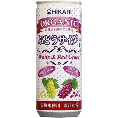オーガニック ぶどうサイダー+レモン 250mL