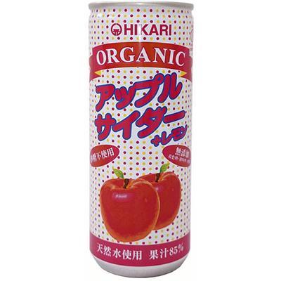 オーガニック アップルサイダー+レモン 250mL