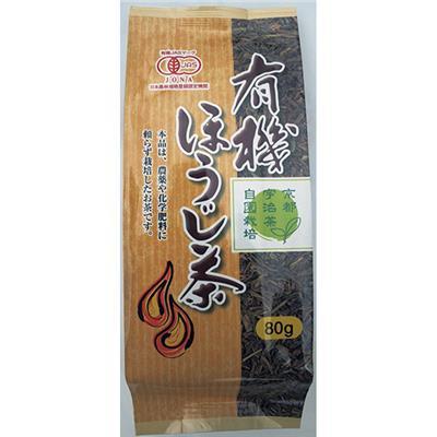 <京都播磨園>有機 ほうじ茶 80g