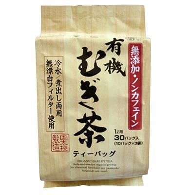 有機 むぎ茶(冷水/煮だし両用)300g(30パック)