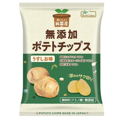 純国産 ポテトチップス(うすしお)60g
