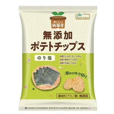 純国産 ポテトチップス(のり塩)55g