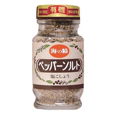 <海の精>有機ペッパーソルト(食卓ビン)55g