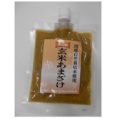 <マルカワ>自然栽培の玄米甘酒(粒)250g