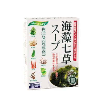 海藻七草スープ 4.8g×3袋