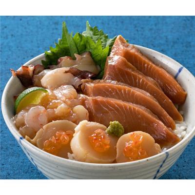 北の5種海鮮丼