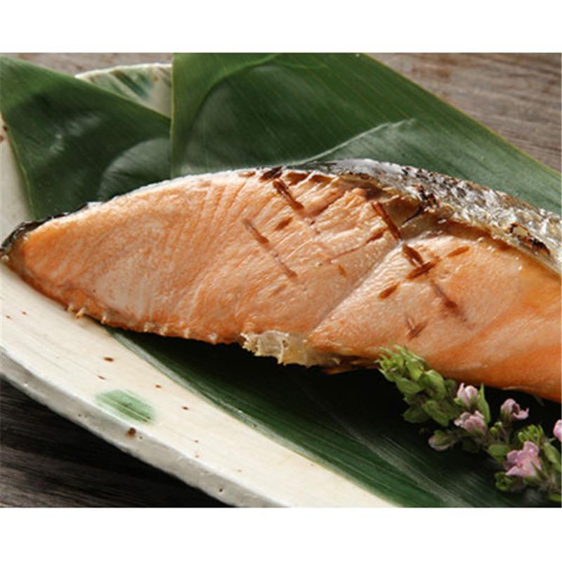 北海道産塩紅鮭・塩時しらず鮭セット