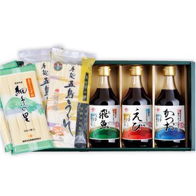チョーコー つゆ3種と麺セット MT30
