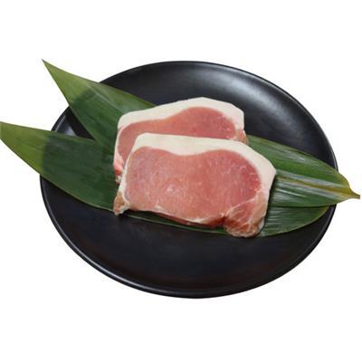 【冷凍】<茶美豚>豚ロース厚切りとんかつ用 100g×2枚
