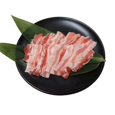 【冷凍】<茶美豚>豚バラスライス 200g