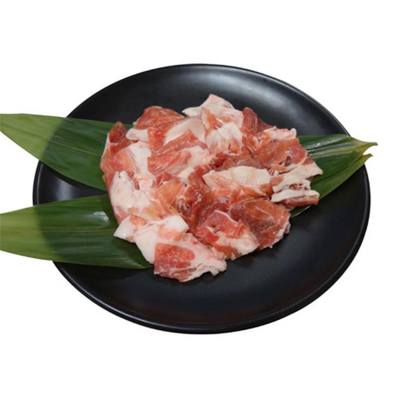 【冷凍】<茶美豚>豚ウデ小間切れ 200g