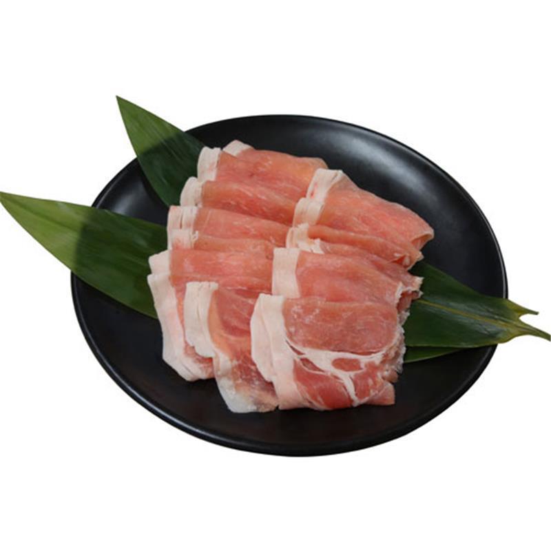 【冷凍】<茶美豚>豚ロースしゃぶしゃぶ用 200g