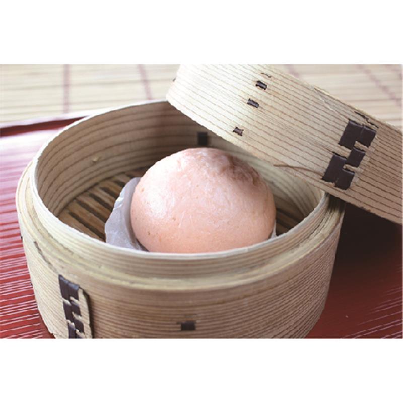 【冷凍】口福広場 信州りんごまん 4個