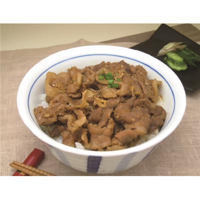 【冷凍】房総もち豚 生姜丼 120g