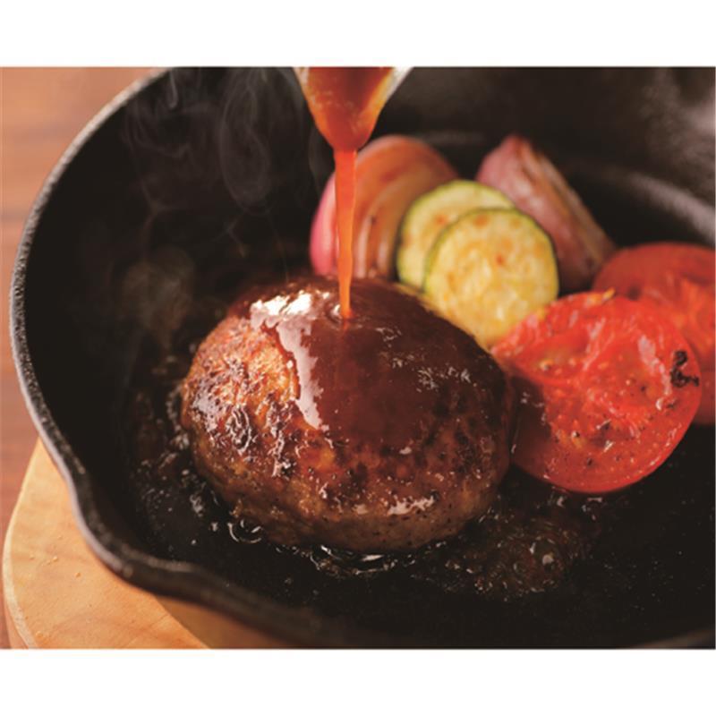 【冷凍】<豊西牛>ハンバーグ 120g