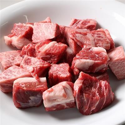 【冷凍】<豊西牛>カレーシチュー用 250g