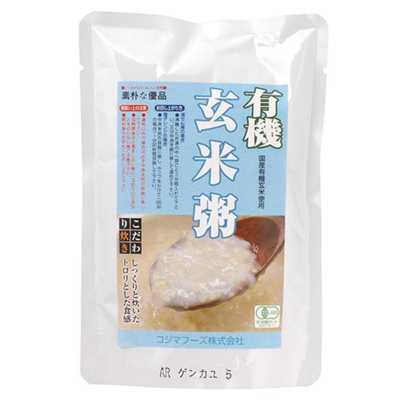 有機 玄米粥 200g