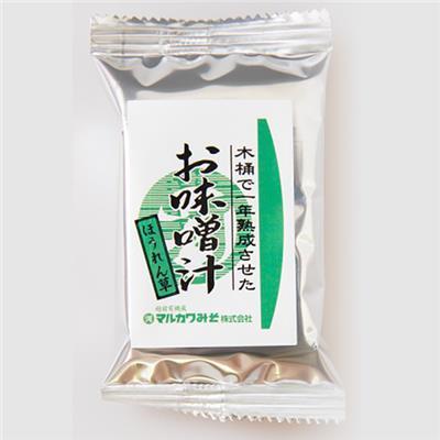 <マルカワ>インスタントみそ汁(ほうれん草)8g