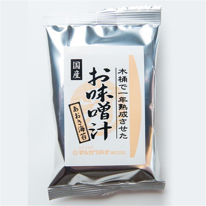 <マルカワ>インスタントみそ汁(あおさ海苔)8g