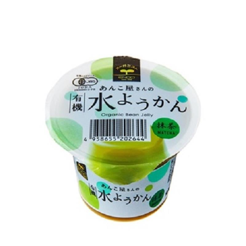 有機水ようかん 抹茶 100g