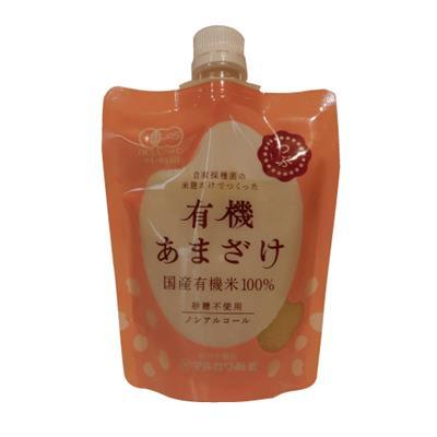 <マルカワ>有機栽培の白米甘酒(粒) 200g