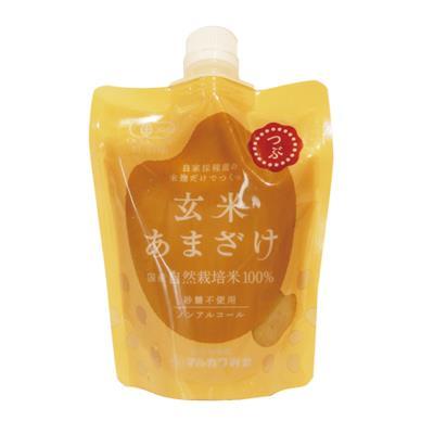 <マルカワ>自然栽培の玄米甘酒(粒) 200g