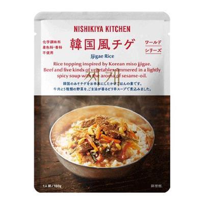 <にしきや>牛肉と5種野菜の韓国風ピリ辛かけごはん 160g
