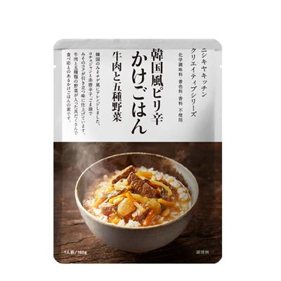 <NK>韓国風ピリ辛かけごはん牛肉と五種野菜 160g