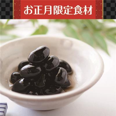 丹波篠山産黒豆煮 200g